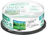 録画用DVD-R 1〜16倍速 20枚 120分(標準モード)/片面4.7GB 【インクジェットプリンター対応】 DRD120PWE.20SP