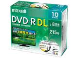 録画用DVD-R DL 片面2層式ホワイトディスク(CPRM対応) 2〜8倍速10枚パック DRD215WPE10S