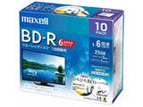 録画用BD-Rホワイトディスク 6倍速10枚パック BRV25WPEH.10S