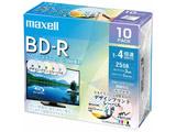 BRV25PME.10S 録画用BD-R MIX [10枚 /25GB /インクジェットプリンター対応]
