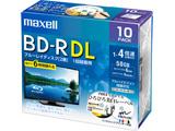 録画用BD-R DL 1〜4倍速 10枚 260分/2層50GB 【インクジェットプリンター対応】 BRV50WPE.10S