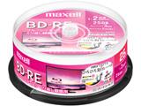 録画用BD-RE 1〜2倍速 25枚 130分/1層25GB 【インクジェットプリンター対応】 BEV25WPE.25SP