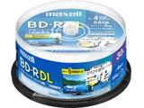 録画用BD-R DL 1-4倍速 50GB 30枚 BRV50WPE.30SP ホワイト [〜30枚]