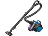 【在庫限り】 【自走式ブラシ搭載】サイクロン掃除機「風神」 メタリックブルー TC-ZXF20P-A