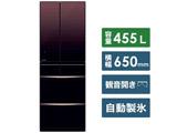 【2020/01/31発売予定】【基本設置料金セット】 冷蔵庫 MR-MX46F-ZT グラデーションブラウン [6ドア /観音開きタイプ /455L]