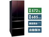 【2020/01/31発売予定】【基本設置料金セット】 冷蔵庫 MR-MX57F-ZT グラデーションブラウン [6ドア /観音開きタイプ /572L]
