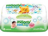 【moony(ムーニー)】 おしりふき トイレに流せる やわらか素材 本体 50枚〔おしりふき〕