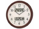 電波掛け時計 「ネムリーナカレンダー」 4FYA01-006