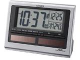 電波目覚まし時計 「パルデジットソーラーR125」 8RZ125-019