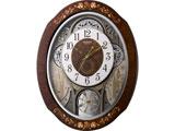 電波からくり時計 「スモールワールドティアモ」 4MN521RH06