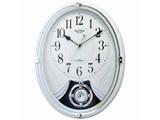 電波掛時計 スモールワールドリリィ(白) 4MN528RH03