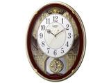 電波からくり時計 「スモールワールドプラウド」 4MN523RH06