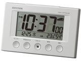 電波目覚まし時計 「フィットウェーブスマート」 8RZ166SR03 (白)