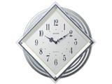 電波掛け時計 「ビュレッタ」 4MX405SR03(白パール)