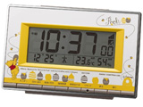 電波目覚まし時計 「くまのプーさん」 8RZ133MC08