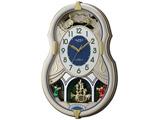 電波からくり時計 「スモールワールドカラーズ」 4MN543RH18