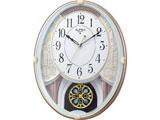 電波からくり時計 「スモールワールドエクラ」 4MN548RH03