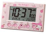 電波デジタル目覚まし時計 「マイメロディR166」 8RZ166MY13
