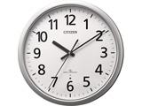 4MY853-019 掛け時計 シチズン シルバーメタリック