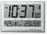 8RZ199-019 掛け時計 シチズン シルバーメタリック