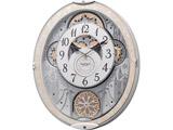 リズム時計 電波からくり時計 スモールワールドノエルNS 8MN407RH03 8MN407RH03