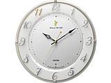 くまのプーさん 電波掛け時計 「掛時計 くまのプーさん」 8MY542MC03