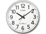 シチズン 電波掛時計 8MY547-019 シルバーメタリック色(白)