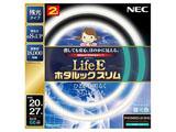 丸形スリム蛍光灯 「LifeEホタルックスリム」(20形+27形 2本入・昼光色) FHC66ED-LE-SHG