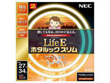 丸形スリム蛍光灯 「LifeEホタルックスリム」(27形+34形 2本入・電球色) FHC86EL-LE-SHG