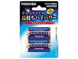 【単2形】2本 アルカリ乾電池 「IMPULSE」LR14H 2BP