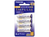 【単3形ニッケル水素充電池】 4本 「IMPULSE」(高容量タイプ) TNH-3AH 4P