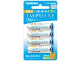 TNH-3ME 単3形 充電池 IMPULSE(インパルス)スタンダードタイプ [4本]