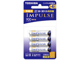 【単4形ニッケル水素充電池】 4本 「IMPULSE」(高容量タイプ) TNH-4AH 4P