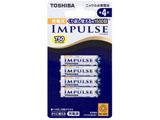 【単4形ニッケル水素充電池】 4本 「IMPULSE」 TNH-4A 4P