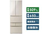 【11/中旬発売予定】【基本設置料金セット】 6ドア冷蔵庫 GR-R510FK(EC) サテンゴールド