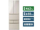【11/中旬発売予定】【基本設置料金セット】 6ドア冷蔵庫 GR-R460FK(EC) サテンゴールド