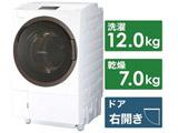 ドラム式洗濯乾燥機 洗濯12kg/乾燥7kg TW-127X8R(W) グランホワイト 【買い替え20000pt】