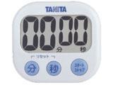 タニタ 【在庫限り】 TD-384-WH(ホワイト)  デジタルタイマー  でか見えタイマー