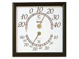 温湿度計 NO5485-BR(ブラウン)