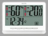 デジタル温湿度計 TT-538-WH(ホワイト)