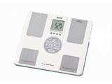 BC-202-WH ホワイト 【体組成計・体脂肪計付き】体重計 「インナースキャンボイス」