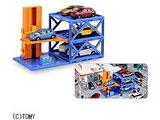 トミカタウン プレイチャージシリーズ オート立体パーキング6