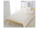 カラー掛ふとんカバー シングルサイズ(綿100%/150×210cm/ベージュ)