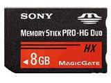 8GBメモリースティック PRO-HG デュオ MS-HX8B