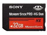 32GBメモリースティック PRO-HG デュオ MS-HX32B