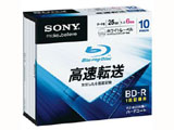 10BNR1DCPS6 6倍速対応 データ用Blu-ray BD-Rメディア (25GB・10枚)
