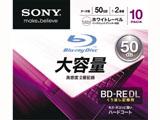 10BNE2DCPS2 2倍速対応 データ用Blu-ray BD-RE DLメディア (50GB・10枚) 10BNE2DCPS2