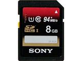 【在庫限り】 8GB・UHS Speed Class1(Class10)対応SDHCカード SF-8UX 【SDカード】