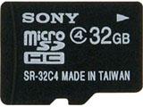 【在庫限り】 SR-32A4(microSDHCカード 32GB/Class4/SDHC変換アダプタ付) [マイクロSD]