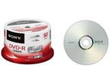 【在庫限り】 50DMR12MLDP ビデオ用DVD-R(16倍速対応/CPRM対応/50枚パック/シルバーレーベル)